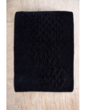 Quilted bath mat
