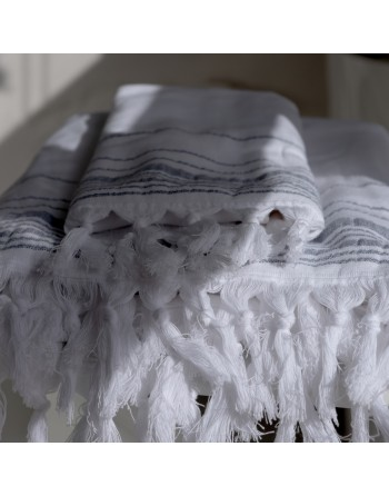 Hamam Sheet with stripes